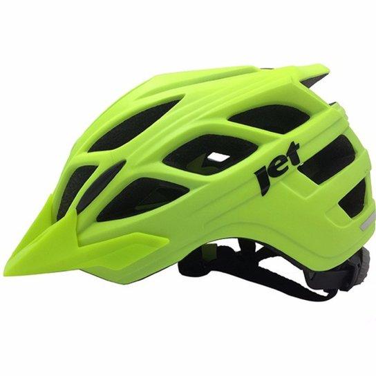 4db2ef2b8 Capacete Ciclismo Mtb Enduro JET Guardian - Verde
