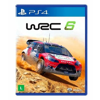 de7325e0e0d Jogo WRC 6  FIA World Rally Championship - PS4