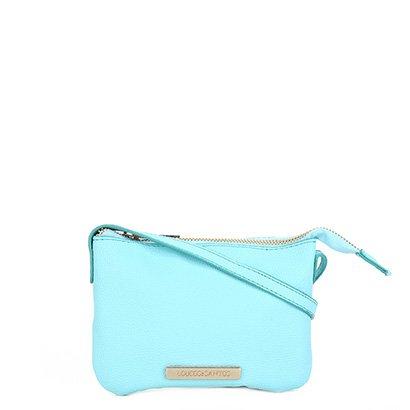 Bolsa Loucos & Santos Mini Bag Básica Plaquinha Feminina
