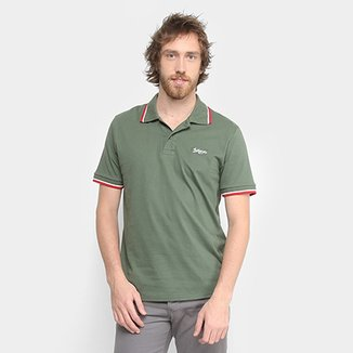 97d5072d66 Camisa Polo BURN Basic Color Masculina