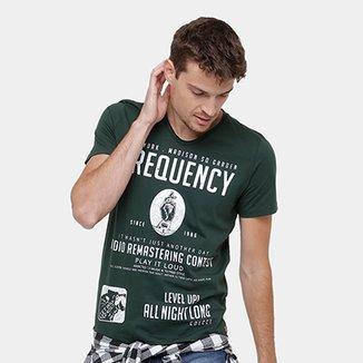 365bd26c9f Camiseta Colcci Frequency Masculina