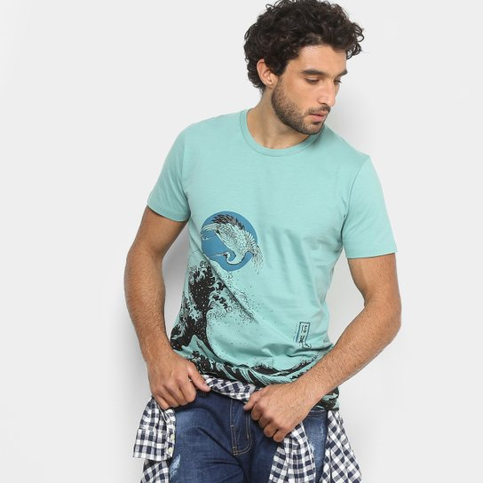 c11ec6781 Camiseta Colcci Estampada Manga Curta Masculina | Netshoes