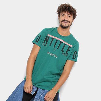 37dded16ef Camiseta Colcci Estampada Masculina