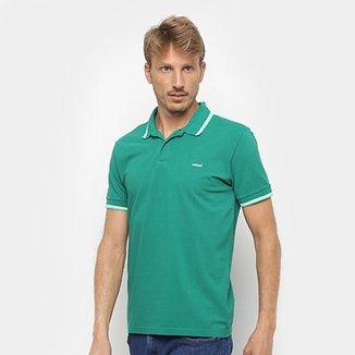 abfa394c69 Camisa Polo Colcci Detalhe Neon Masculina