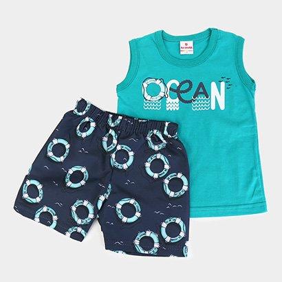 Conjunto Infantil Brandili Ocean Masculino