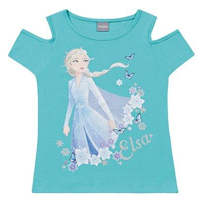 Blusa Infantil Fakini Frozen Feminina