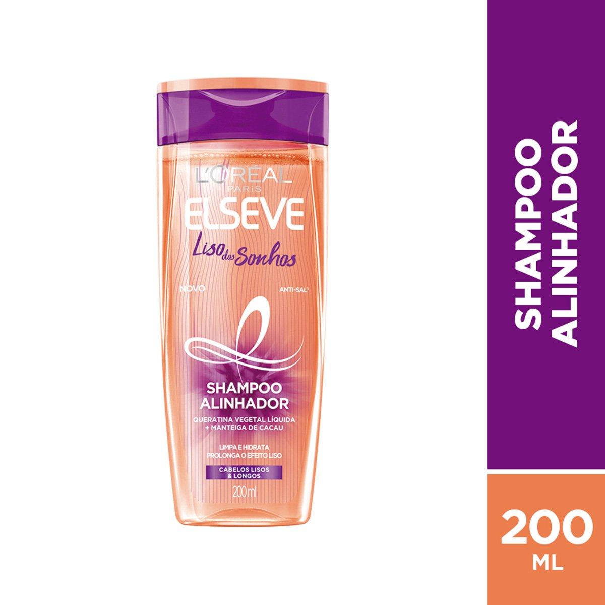 Shampoo Elseve Liso dos Sonhos 200ml