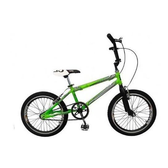 9531227dbb0cd Bicicleta Dnz Bmx Cross Aro 20 Aero - Verde   Netshoes