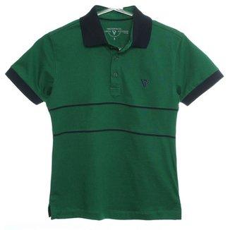 Camiseta Polo Manga Curta b31ba965b7bc2