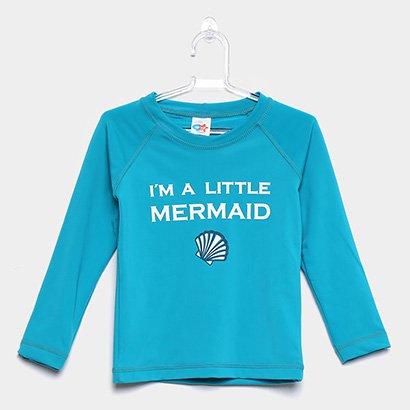 Camiseta Infantil Tip Top Praia Feminina
