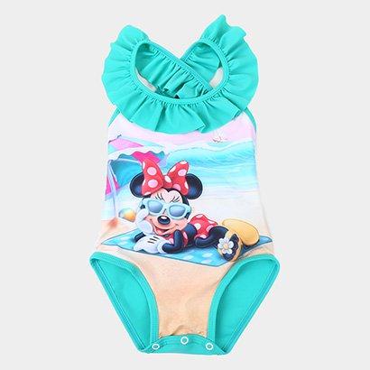 Maiô Infantil Tip Top Disney Minnie