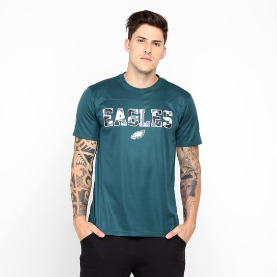 Camiseta New Era NFL Fractured Philadelphia Eagles - Compre Agora ... 863b2d7ccd8d7