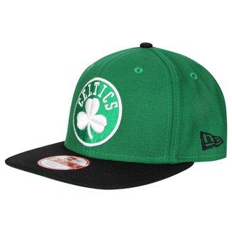 3d4f58ae65582 Boné New Era 950 Of Sn NBA Two Tone Boston Celtics