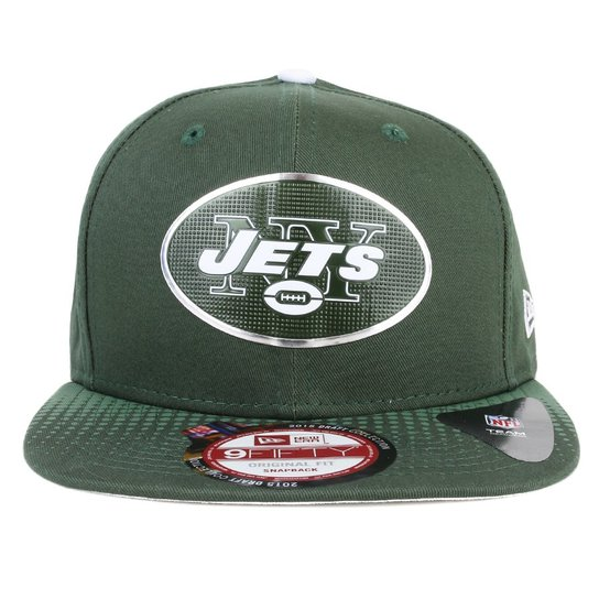 Boné New Era 9fifty Original Fit Snapback New York Jets - Verde ... 392d6d7bf96