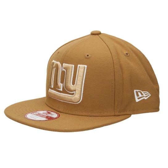 8f15b2139c Boné New Era NFL 950 Of Sn White On Wheat New York Giants - Compre ...