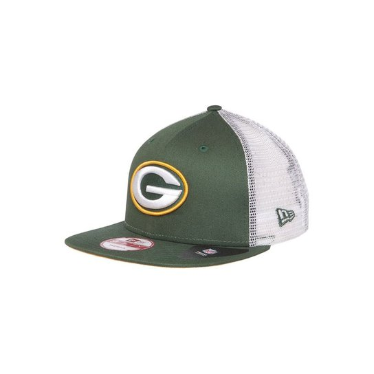 Boné Green Bay Packers Big Mesh Snapback - New Era - Compre Agora ... bf68ac84c7e