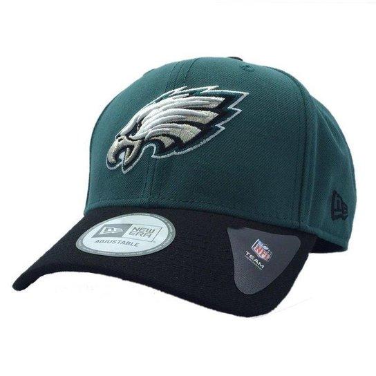 f18ae853f Boné New Era Philadelphia Eagles 940 Snapback HC Basic - Verde ...