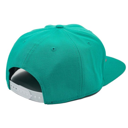 7b061273dcdb4 Boné New Era Snapback Original Fit Boston Red Sox Acqua - Verde ...