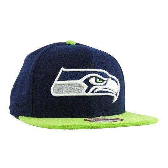 aee3f5f08 Boné New Era Seahawks Aba Reta Snapback - Compre Agora