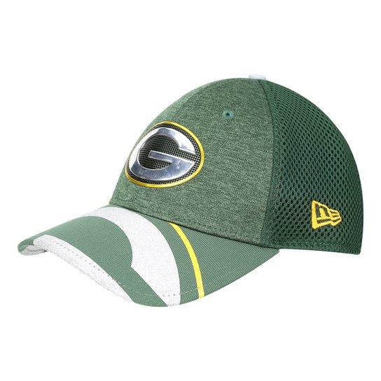 Boné New Era NFL Green Bay Packers Aba Curva 3930 On Stage Masculino - Verde e69040e79077d