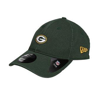 Boné New Era NFL Green Bay Packers Aba Curva 920 Classic af5fd8ab988