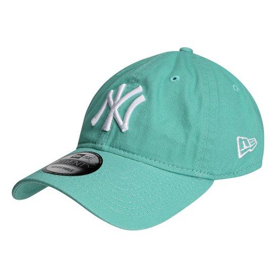 40491e3ec3ade Boné New Era MLB New York Yankees Aba Curva 920 St Pastels - Compre ...