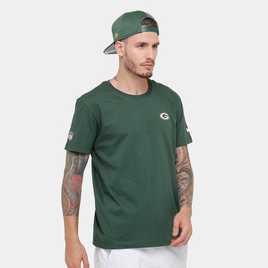 Camiseta NFL Green Bay Packers New Era Team Logo Masculina - Compre ... f34ac02974edc