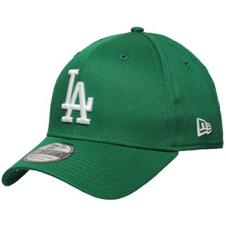 Boné New Era Aba Curva Fechado Mlb Los Angeles Col e73a566794