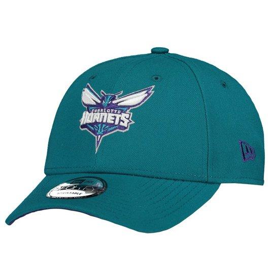 e294ca54a1f Boné New Era NBA Charlotte Hornets 940 - Verde - Compre Agora