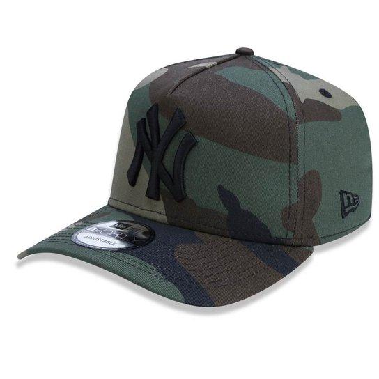 Boné New York Yankees 940 A-Frame New Era - Verde - Compre Agora ... 3388a108629