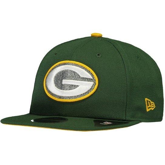 Boné Green Bay Packers 950 NFL New Era Masculino - Verde - Compre ... 085e1a09bb2