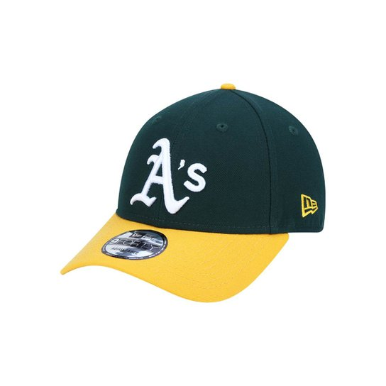 Boné 940 Oakland Athletics MLB Aba Curva Snapback New Era - Verde ... 1d122f6890b