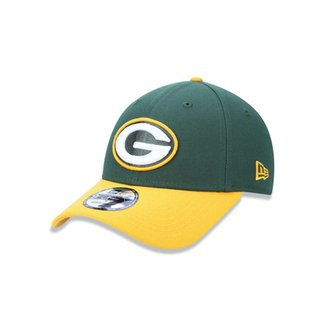 Boné 940 Green Bay Packers NFL Aba Curva New Era b2222397141