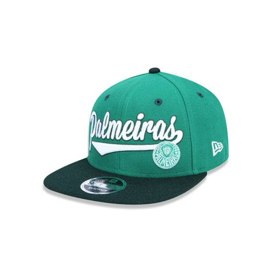 Boné 950 Original Fit Palmeiras Futebol Aba Reta Snapback New Era - Verde a22bb4d5518