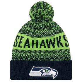 Gorro New Era Touca Seattle Seahawks Tradicional Stripe - Compre ... b62d813cd9a
