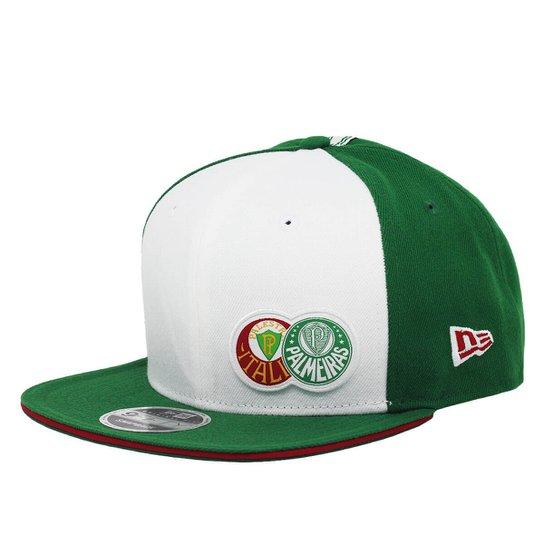 Boné New Era Aba Reta Snapback Futebol Palmeiras P - Compre Agora ... 9dfcddc809b