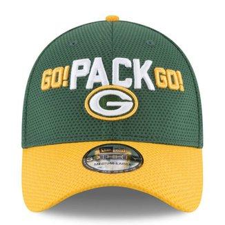 Boné Green Bay Packers Draft 2018 3930 - New Era 96c9170ec4f