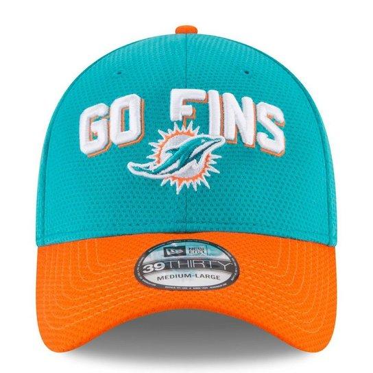 56414117c Boné Miami Dolphins Draft 2018 3930 - New Era - Verde - Compre Agora ...