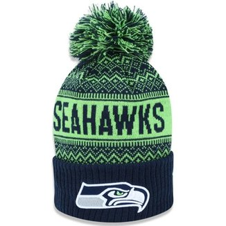 Gorro Touca Seattle Seahawks Wintry Pom New Era fd4ea179c7b