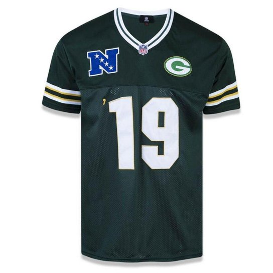 Camiseta Jersey Green Bay Packers Sports Vein - New Era - Verde ... 23e302db8b9
