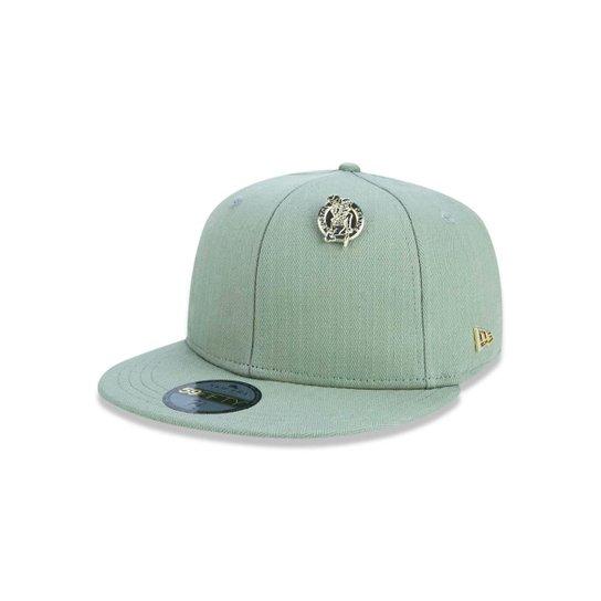 Boné 5950 Boston Celtics NBA Aba Reta New Era - Verde - Compre Agora ... bd3fb62ef67