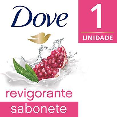 Sabonete Dove Go Fresh Revigorante Romã e Verbena 90g