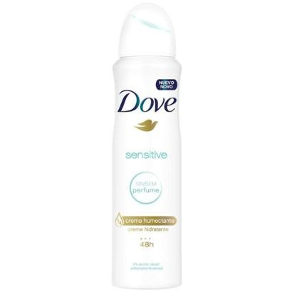 Desodorante Dove Aerosol Antitranspirante Sensitive Feminino 150ml