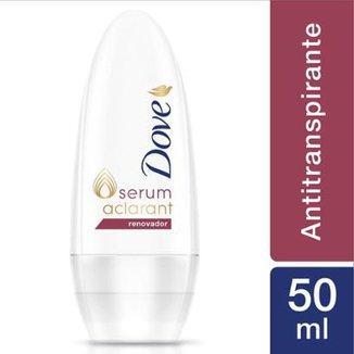 03c5265de2804 Desodorante Dove Roll-On Antitranspirante Renovador Feminino 50ml