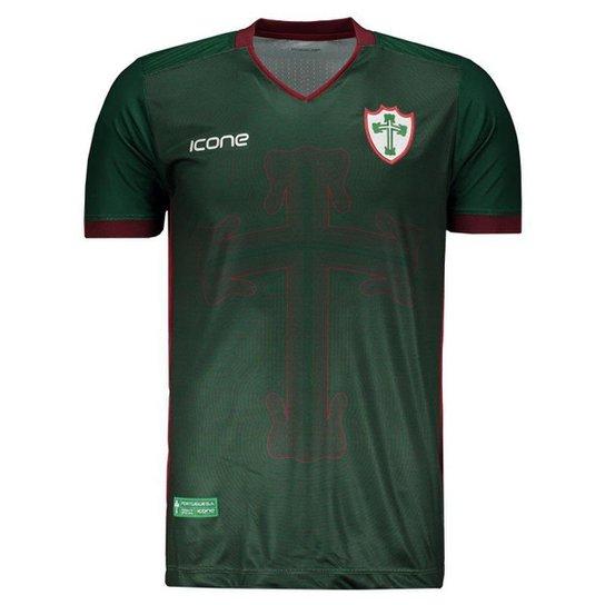 c618b74abfa90 Camisa Ícone Sports Portuguesa III 2018 Masculina - Compre Agora ...