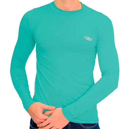 Camiseta Térmica Manga Longa Masculina - Verde - Compre Agora  6ddcbdf8e5aad