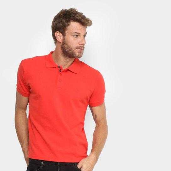 21607881ba Camisa Polo Gangster Piquet Com Elastano Masculina - Vermelho Claro ...