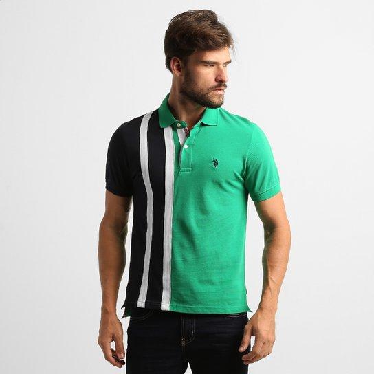 Camisa Polo U.S. Polo Assn Pique - Compre Agora  e50606d7c96b6