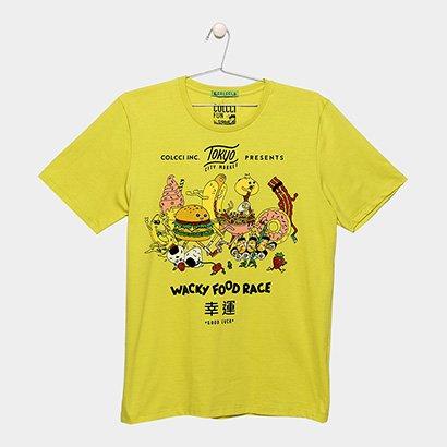 Camiseta Infantil Colcci Fun Fast Food Masculina