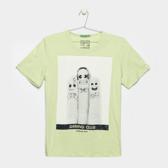 359cd1065 Camiseta Infantil Colcci Fun Estampa Masculina | Netshoes